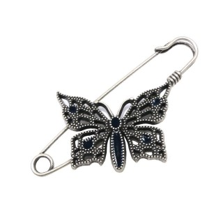 Imperdible mariposa plata vja