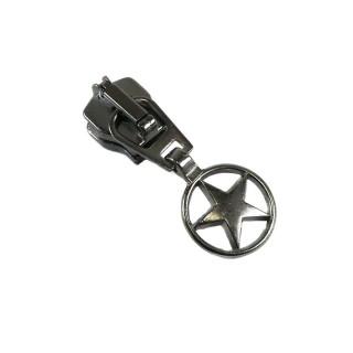 Cursor metal estrella pavonado