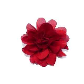 Flor petalos 6cm.rojo