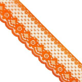 Puntilla nylon 58mm.naranja