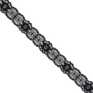 Entredos nylon negro