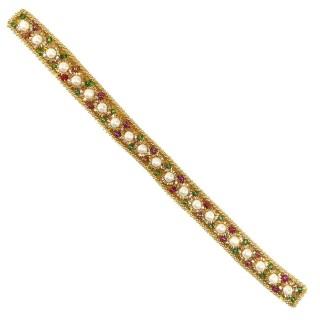 Aplicacion oro+perla+rocalla