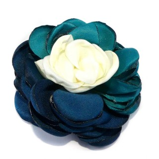 Flor saten tricolor p+m+q