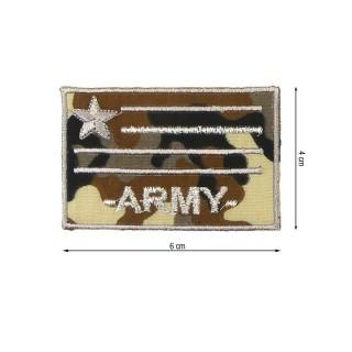 Parche escudo mayor army beig