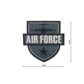 Parche air force g gris