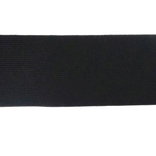 Goma bielastic 100mm. negro