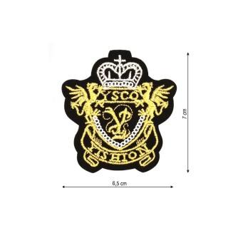 Parche bordado escudo ysco