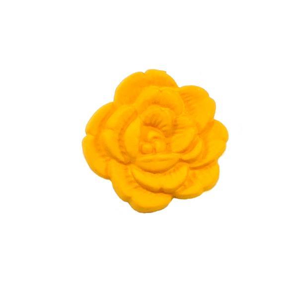 Boton poliester flor t/24 allo