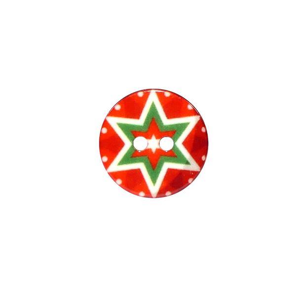 Boton estrella navidad t/24 rj