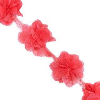 Tira flores 5cm.escalon.coral
