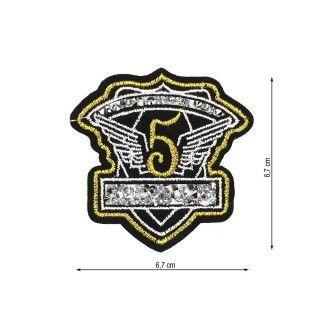 Parche termo escudo5+tupis