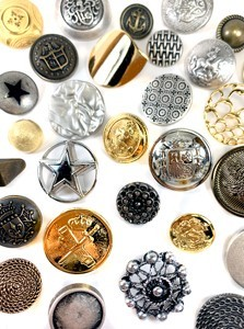 Comprar botones metálicos